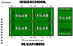 NFL Flag Football Games for Saturday, July 30th