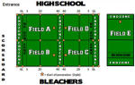 NFL Flag Football Games for Saturday, July 26th